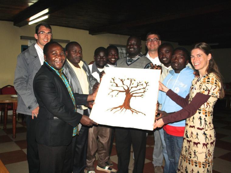 Festakt im Jahr 2016 zum 40 jährigem bestehen der Partnerschaft in Tansania