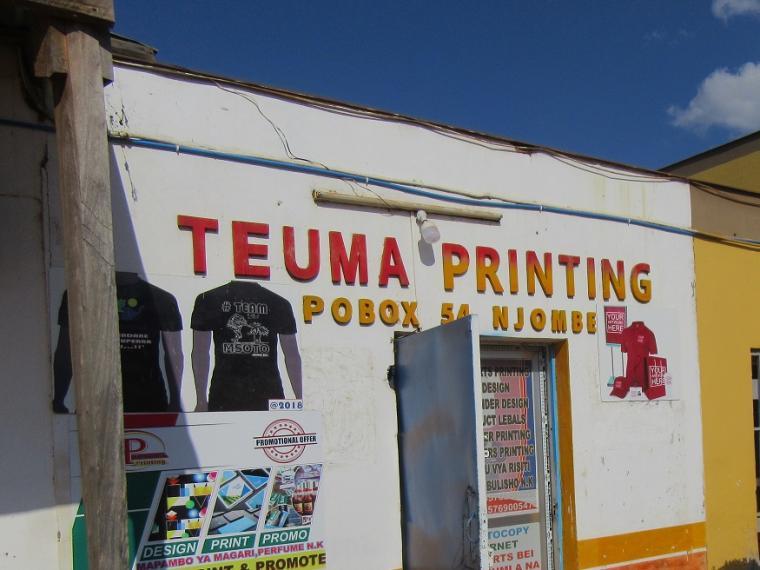 TEUMA Print Shop Njombe